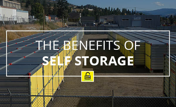 storage benefits, penticton, storage units, yellow doors