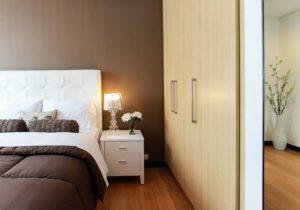bedroom, moving, unpack