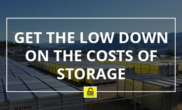 storage, costs, penticton