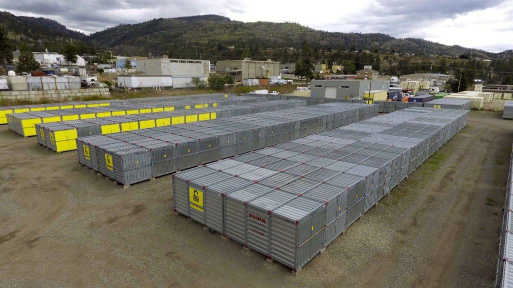 storage penticton, exterior, units