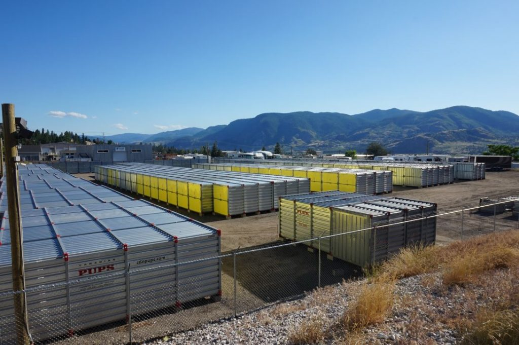 penticton, storage units