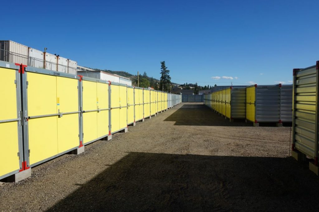 storage units, isle, penticton