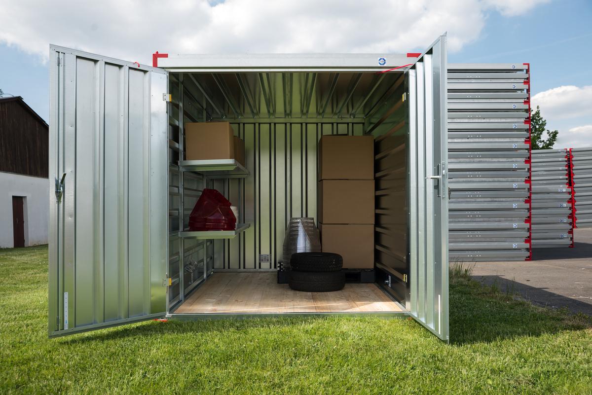 storage unit, interior