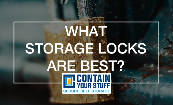 self storage locks, guide