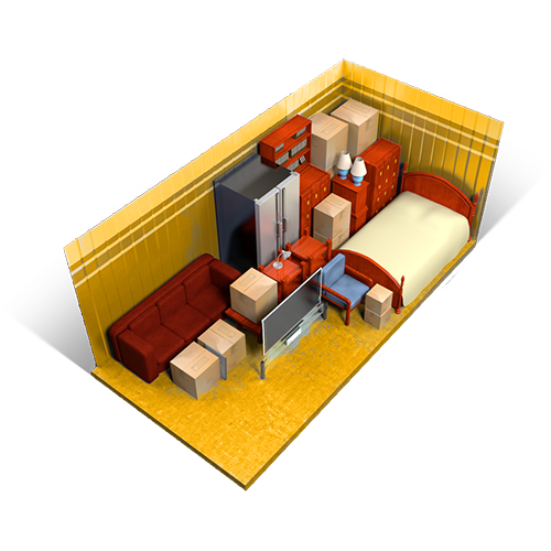 7x19, storage unit, interior