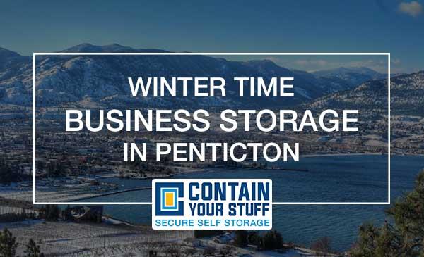 business, storage, penticton, winter