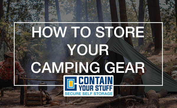 camping, tent, storage
