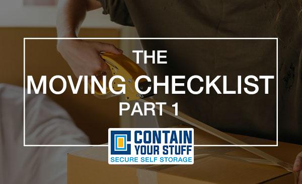 moving, checklist, box, tape