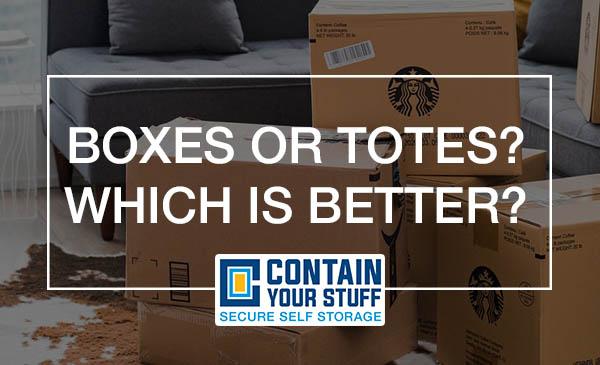 boxes, totes, storage