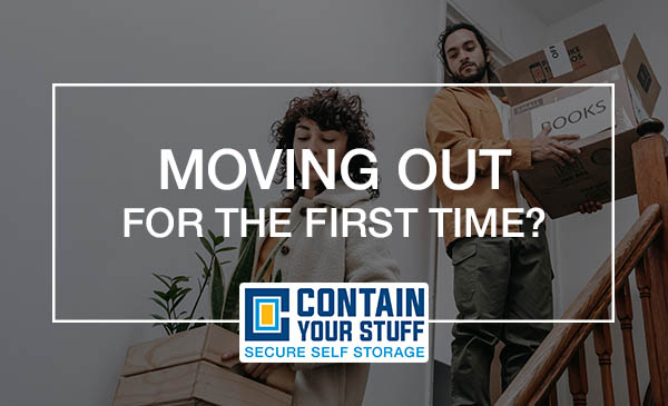 moving out, stairs, boxes