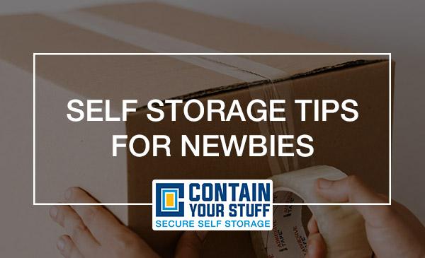 self storage, help, tips